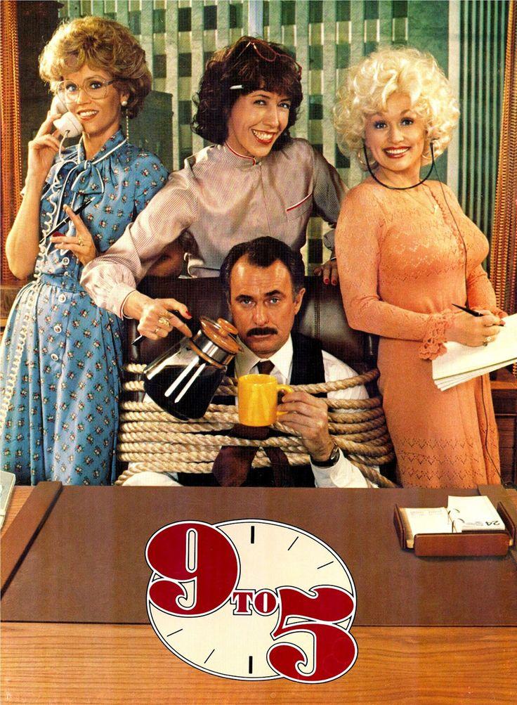 Jane Fonda, Lily Tomlin, Dolly Parton & Dabney Coleman in 9 to 5 (1980)