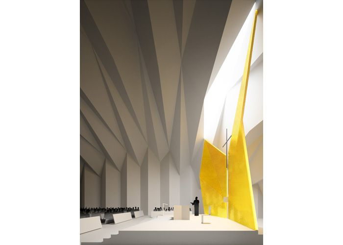 Patkau Architects Our Lady of the Assumption Parish Church - Faceted