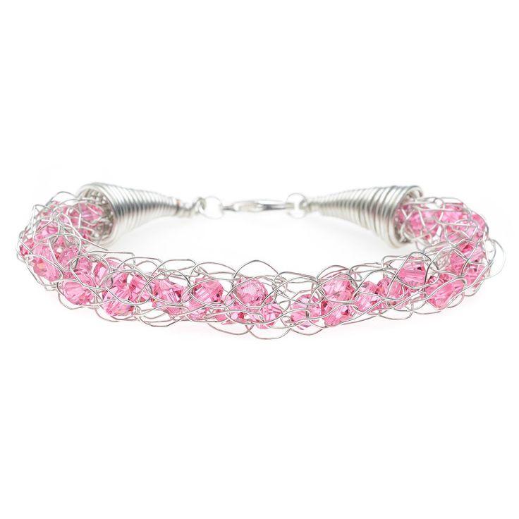 Pretty in Knit Bracelet | Beadaholique