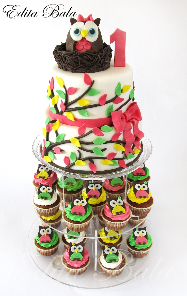 Birthday Cupcake Cakes Ideas