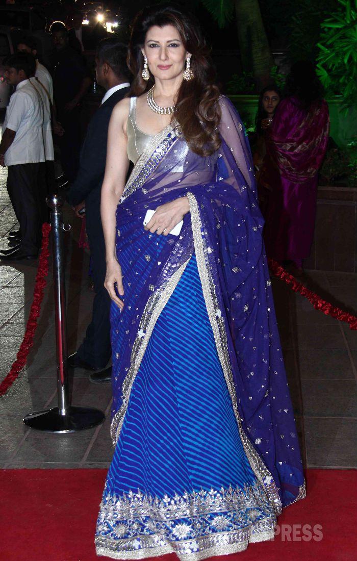 #SalmanKhan's sister #Arpita, Aayush's grand #wedding reception