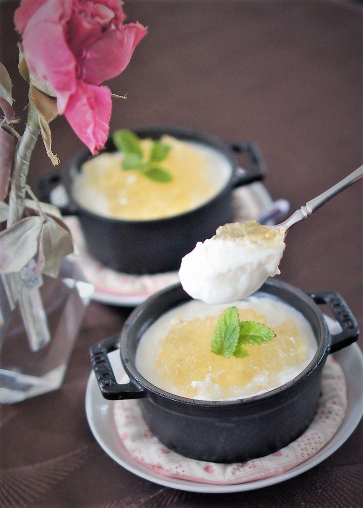 新玉ねぎのムース by manngo / 旬の新玉ねぎを生クリームと卵白でムースにしました。 / Nadia