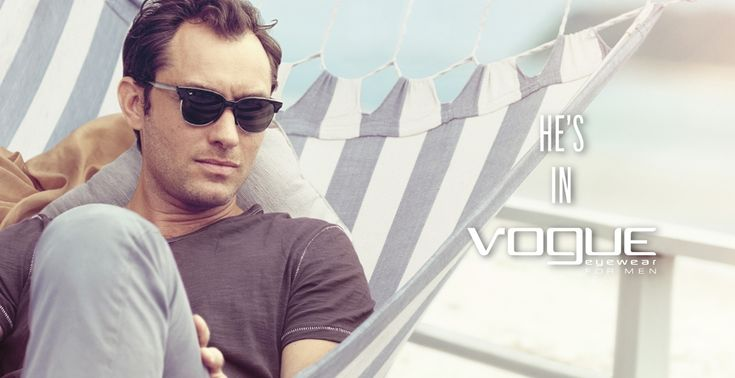 Jude Law Fronts the Latest Vogue Eyewear Campaign
