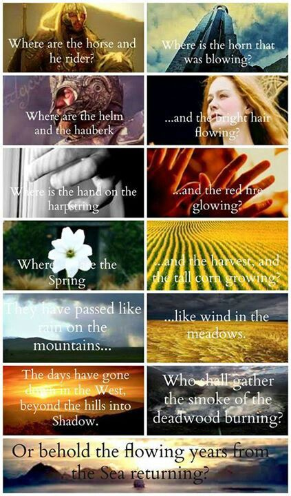 Lord Of The Rings Poem