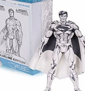 DC Comics MAR160334 ``Blueline Superman`` Action Figure Inspired by the art of comics superstar Jim Lee, this new black and white action figure captures The Man of Steel as he appeared at the start of DC Comics - The New 52! T (Barcode EAN = 0745559252073) http://www.comparestoreprices.co.uk/december-2016-week-1-b/dc-comics-mar160334-blueline-superman-action-figure.asp