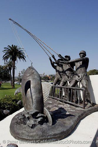 Tunaman's Memorial, Shelter Island, San Diego, California   By Peter Bennett