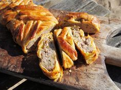A Nocturnal Beach Picnic, Wine and a Family Recipe - Sausage Plait with Sage and Onion