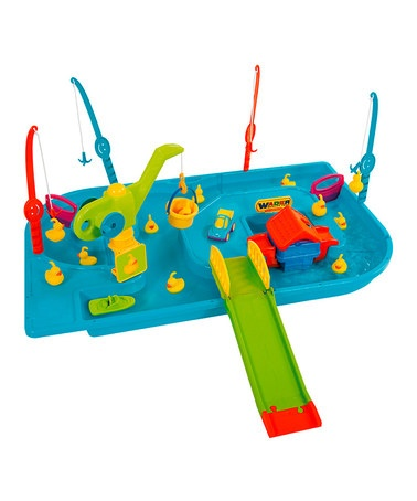 Take a look at this Four-Person Catch the Ducky Game by Wader on #zulily today!