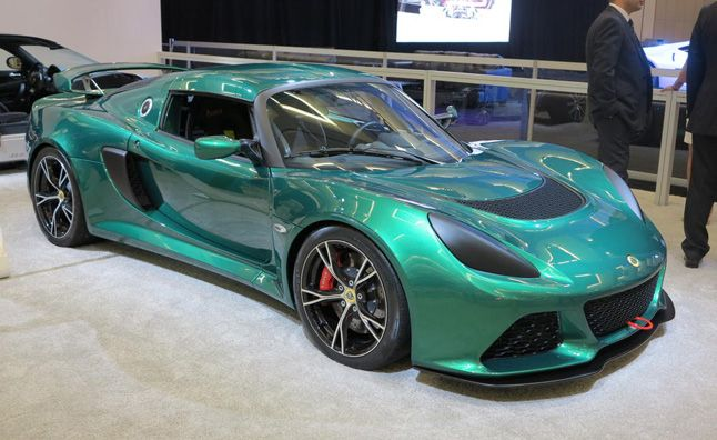 Lotus Exige V6 Cup Arrives in America. For more, click http://www.autoguide.com/auto-news/2013/11/lotus-exige-v6-cup-arrives-in-america.html