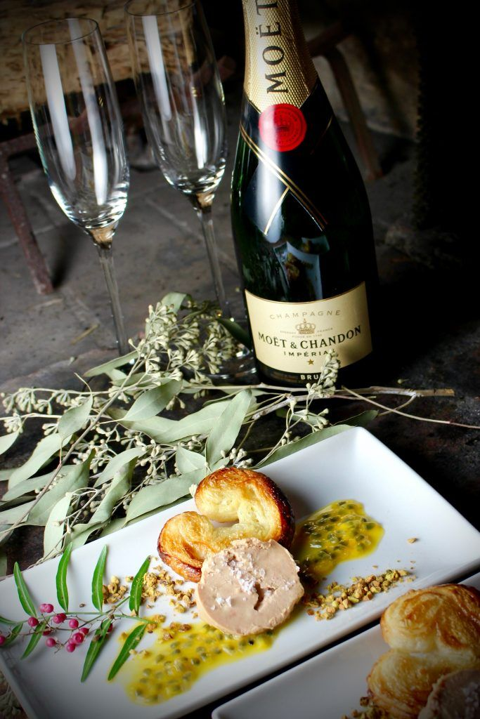 Holiday Entertaining: Foie Gras with Sweet & Salty Palmier Cookies