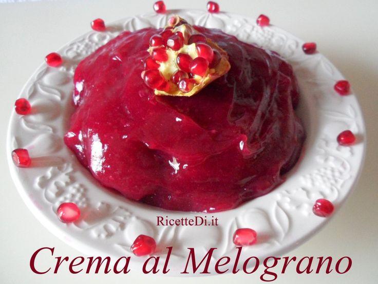 Crema al Melograno