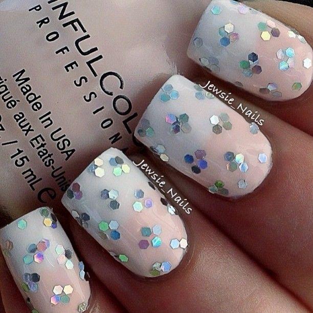 snowflakes by  jewsie_nails #nail #nails #nailart