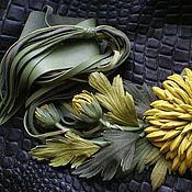 Купить или заказать Брошь из кожи ' Прованс' в интернет-магазине на Ярмарке Мастеров. Розочка из натуральной кожи.В комплект можно сделать браслет,сумочку.Уточняйте наличие нужного цвета кожи и цену.