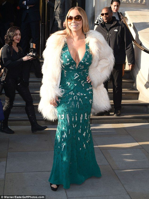 Here she is! Renowned pop diva Mariah Carey cemented her superstar status once more as she...