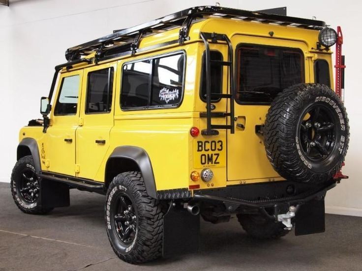 Land Rover Defender 110 TD5 G4 LE SPECIAL EDITION ONE OFF OPPORTUNITY | eBay