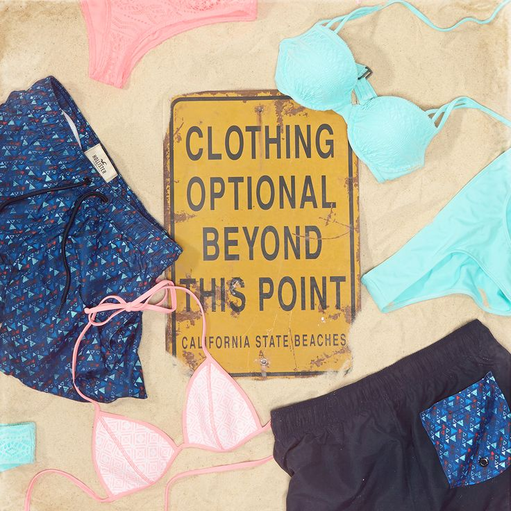 Always optional. #Swim #HCoStyle