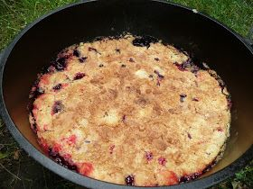 Everyday Dutch Oven: Very Berry Blackberry Dump Cake