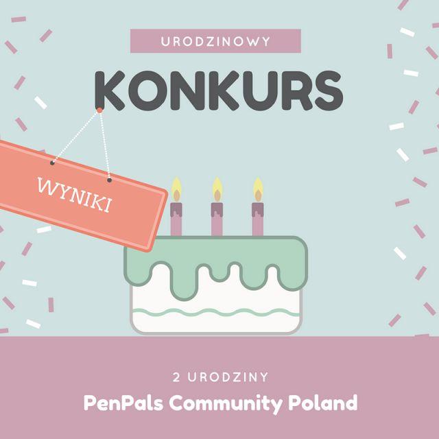 Pen Pals Community Poland : Wyniki Konkursu urodzinowego + kawałek historii bl...