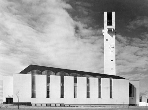 Lakeuden Risti church Seinäjoki, Finland, Alvar Aalto, 1957-1960