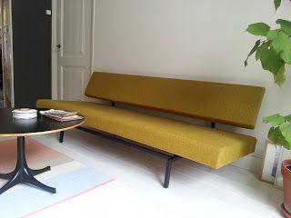 Vintage vernieuwd: Slaapbank Martin Visser