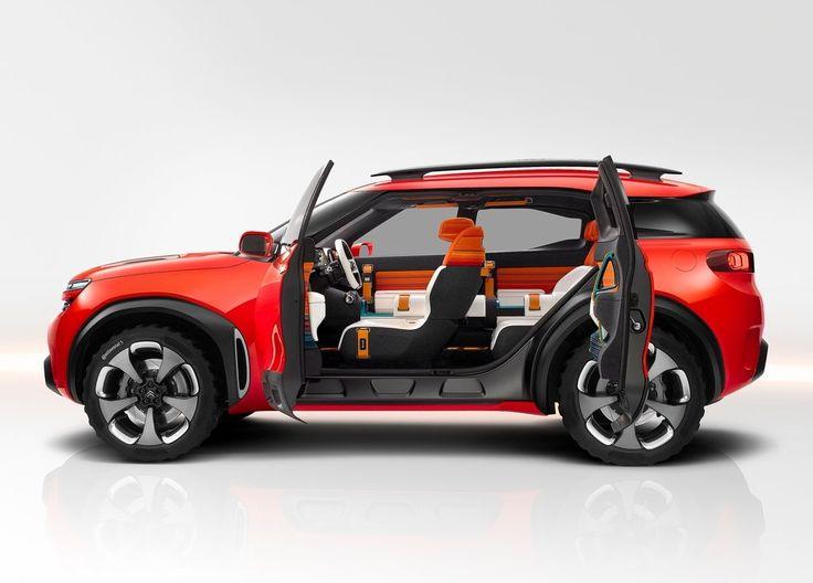 Citroën Aircross : l'hybride rechargeable en concept