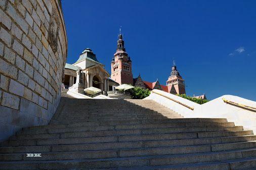 Szczecin Poland Polen Stettin Wały Chrobrego