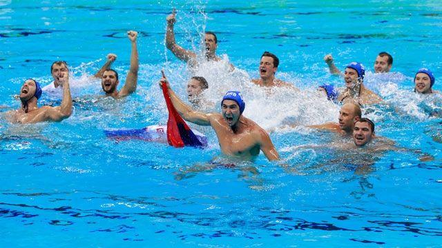 Water polo Men´s Serbian team olympics 2016 | Rio 2016. Serbien vann guldet i herrarnas wattenpolo 11-7 mot Kroatien som får silver, brons till Italien som vann över Montenegro med 12-10.