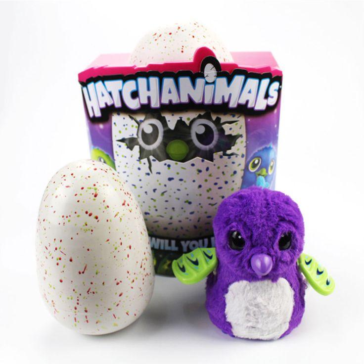 3 Cor pet Eletrônico ovos para incubação Hatchimal criatura interação magia ovo de Dinossauro Ovo de Incandescência pet Brinquedos Crianças Presente de Natal