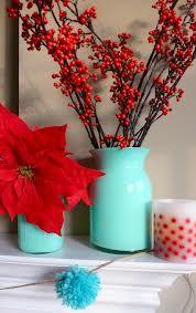 red aqua christmas - Google Search