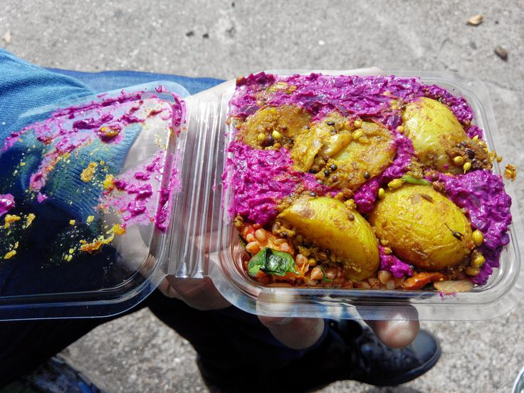 Street veggie food