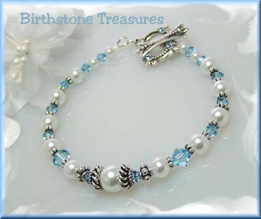 Swarovski beads and pearls. Gorgeous!