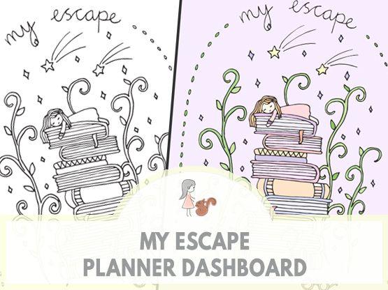 My Escape Planner Dashboard | www.sweetestchelle.com