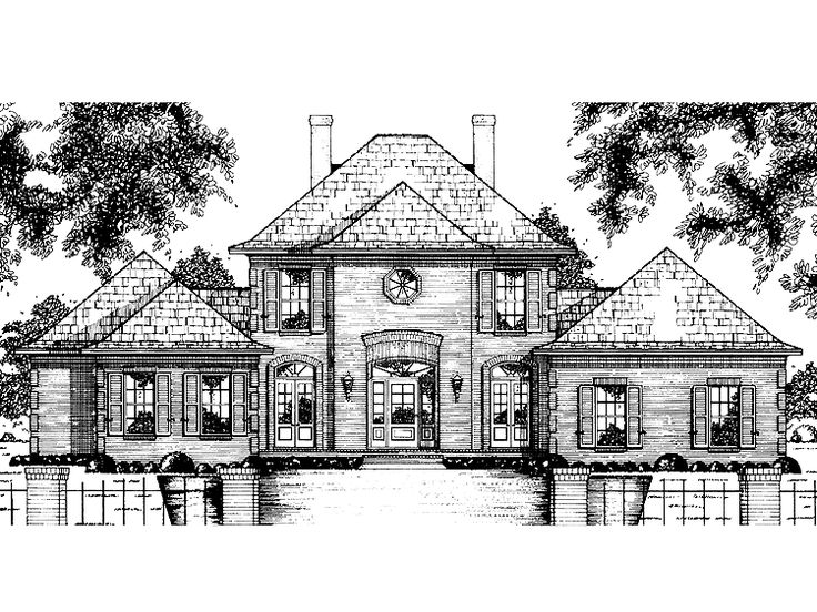 Chateauesque Style House Definition House Design Ideas