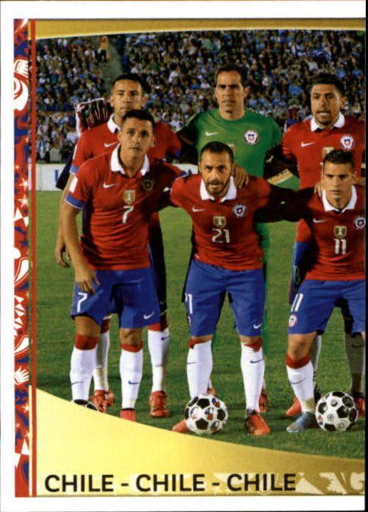 2016 Panini Copa America Centenario Stickers #327 Chile Team