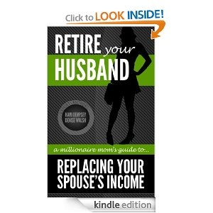 """""""Retire your husband"""" written by top money earners of it works global kami Dempsey and Denise Walsh. The right information to help you succeed in network marketing. Enjoy life with your family instead stuck at your 9-5 job. Change won't happen unless you MAKE it happen. If you are interested in network marketing let me know!"""