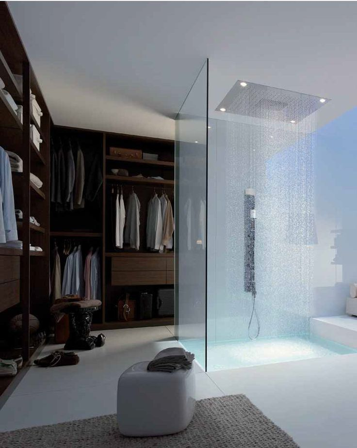 Walk In Closet With Shower Inside Home Dream House House Design