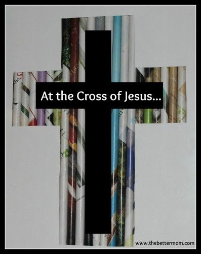 """At the Cross of Jesus...  """"Today is a day to–  Pause.  To stop… From casually, flippantly, hurriedly– jumping to the joy of Easter-rejoicing. But to really stop. And not skim over the sacrifice that was made at the Cross, On that horrendous Good Friday so long ago."""""""
