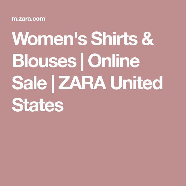 Women's Shirts & Blouses | Online Sale | ZARA United States