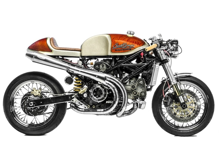 South Garage Kelevra Ducati S4R Cafe Racer. A thing I want but would probably never use... I just like to look at it.