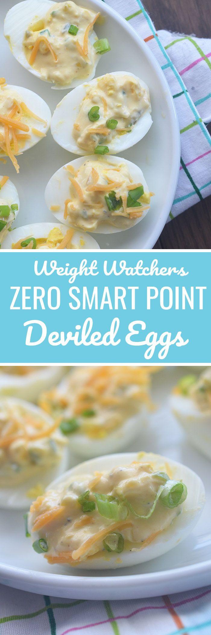 Weight Watchers Deviled Eggs - Recipe Diaries #eggs #weightwatchers #healthysnacks #greekyogurtr