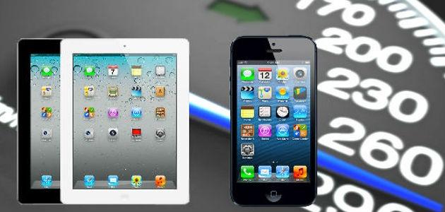 Velocizzare iPad 3 e iPhone 5