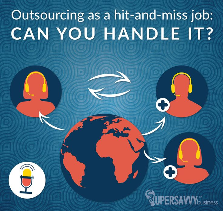 #outsourcing is a powerful resource for small businesses. It can really help you leverage your time, but it's very time consuming. A hit and miss job.