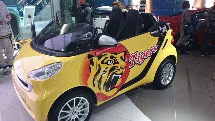 smart 阪神タイガースのリリーフカー。