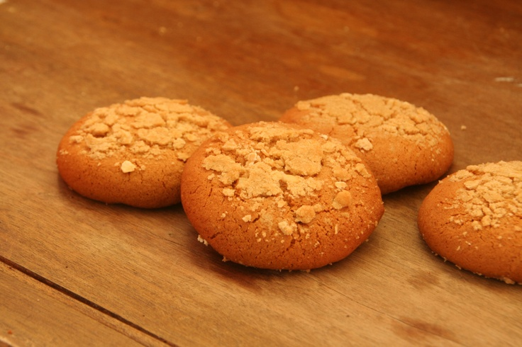Ginger Crumble Cookies