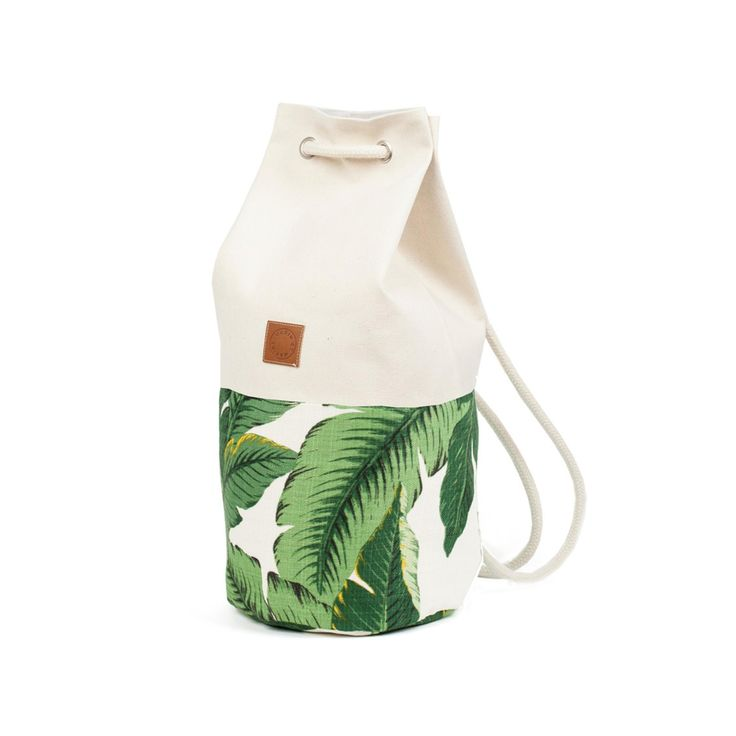BUCKET LIST #15 (FR) Les produits à se procurer d'urgence - Pour une sensation de vacances tropicales (EN) Products to shop before the sold out - You get immediately a tropical holiday feeling  // 119€ - SAC MARIN Palm – MARIN & MARINE