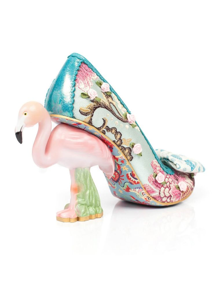 Irregular Choice Blushing Bird Pumps Groen