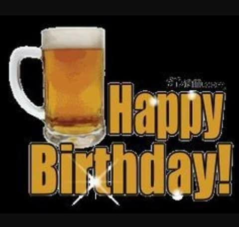 Happy Birthday This beers for you!