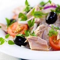 salade de thon au pistou