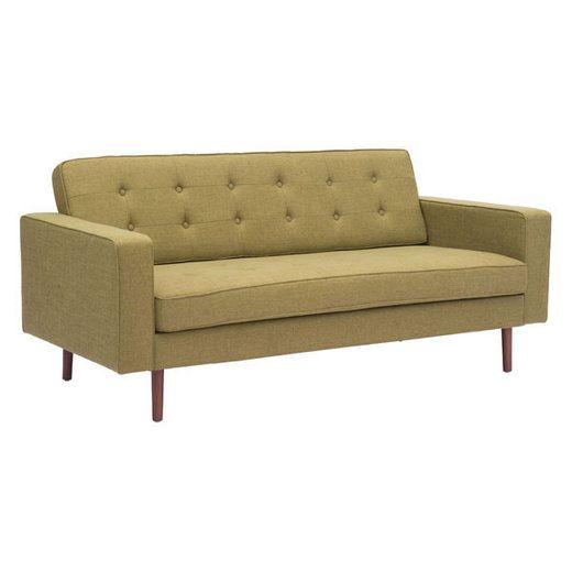 Zuo Modern 100221  Puget Sofa Green