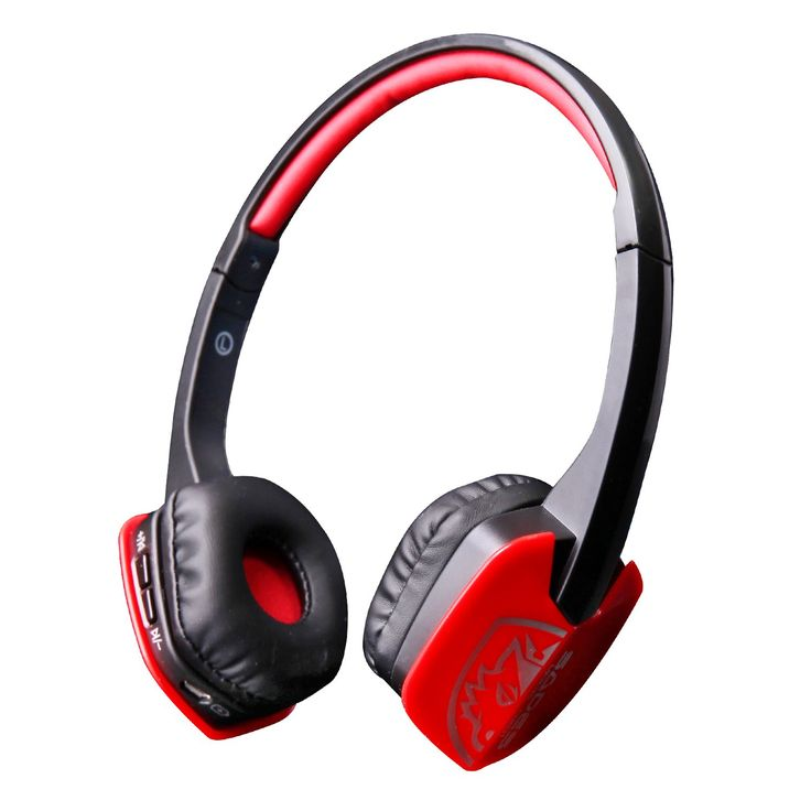 Sades D201 Wireless Bluetooth Compatible Sport Stereo Universal Headset Headphone for PC Smartphone (Red/Black). High Quality Bluetooth. Pure digital sound double decoding system, featuring rich sound and low pitch; it plays files of multiple formats. Automatic number reporting when there is incoming call. High signal to noise ratio bluetooth audio connection no need of any emitter, enjoy wireless music freely. Noise reduction & Echo cancellation. Automatic voice prompt for headset...